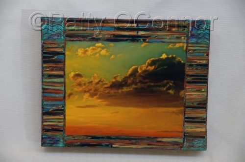 Monsoon Sunset ( patina)