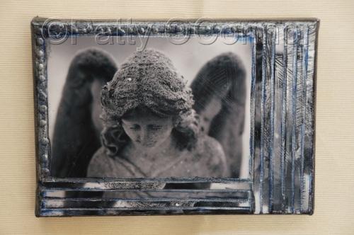 Greyscale Angel