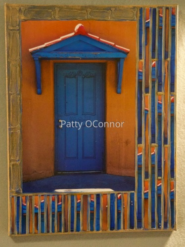 Blue Door Near Guadalupe