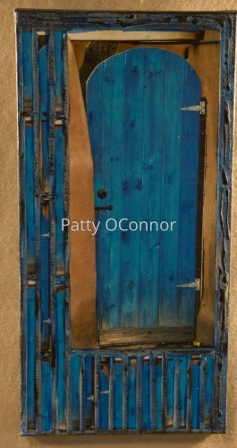 Blue Stained Gate