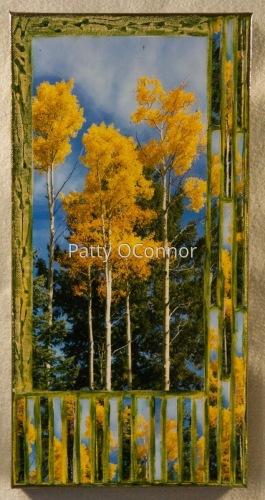 Yellow top Aspens with Pinon