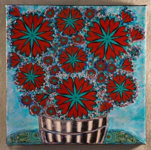 Heart Mandala Flowers