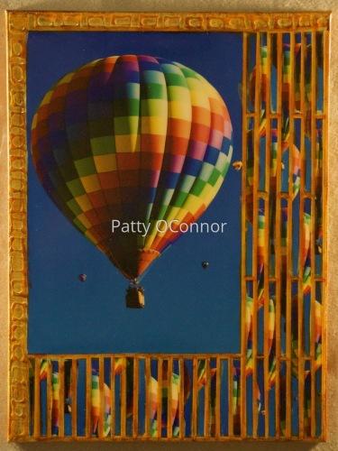 Rainbow Color Block in Flight