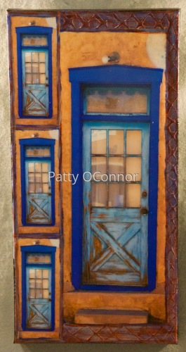 OSFT Two Toned Blue Door