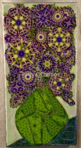 Lavender Mandala Flowers