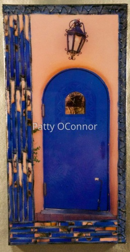 Taos Blue Door