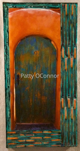 Blue/ Teal Arch Gate