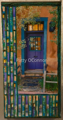 Canyon Rd Purple Door (8x16)