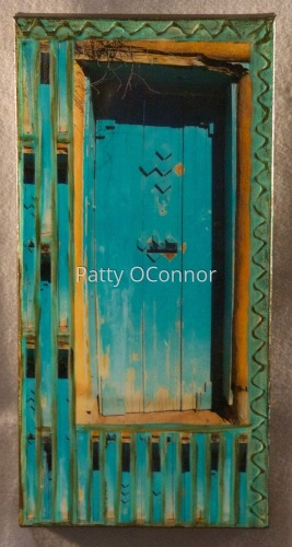 Upper Canyon RD. Teal Gate ( 8 x 16)