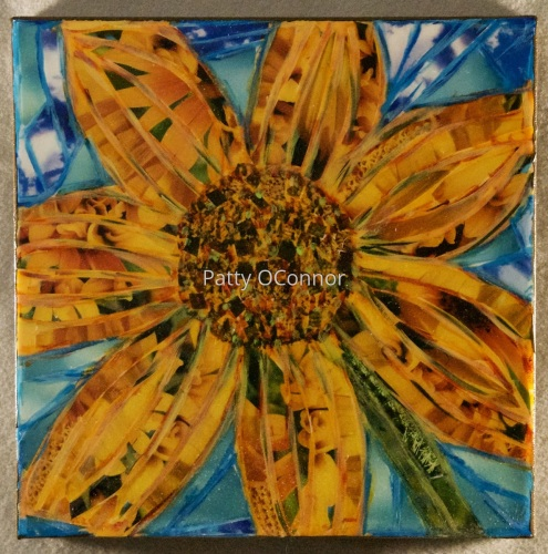 Mosaic Sunflower