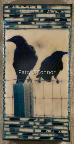 Two Crows on a Fence