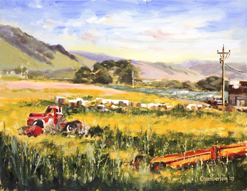 Out To Pasture by Paul Chamberlain