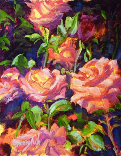 Rose Bouquet by Paul Chamberlain