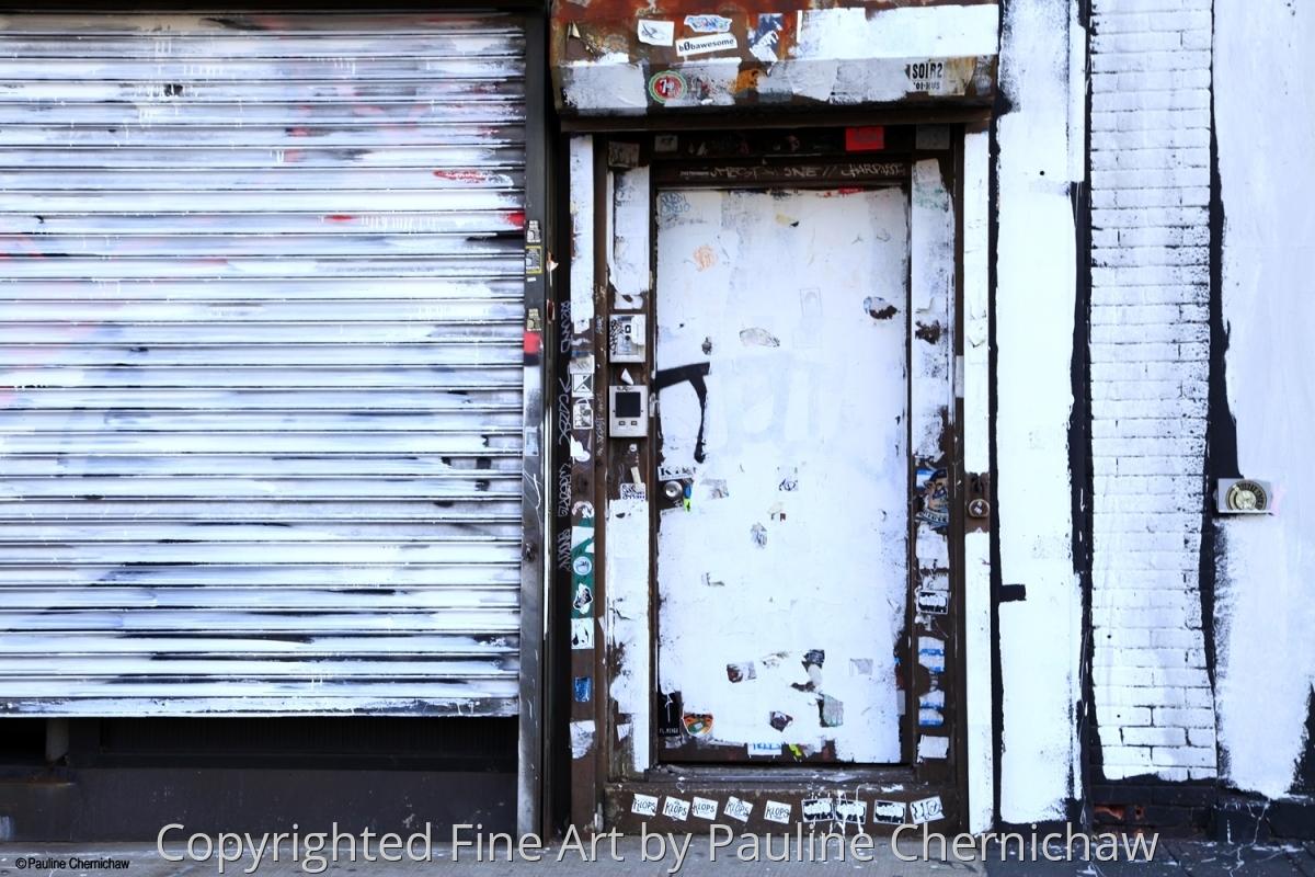 Whitewashed Door (large view)
