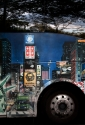 City Bus with New York City painted on it. (thumbnail)