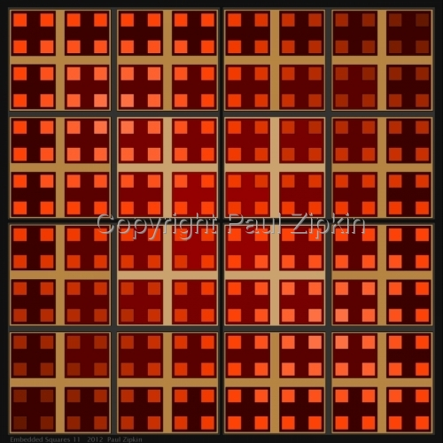Embedded Squares 11