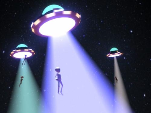φ.F.O. Invasion! Alien Abduction