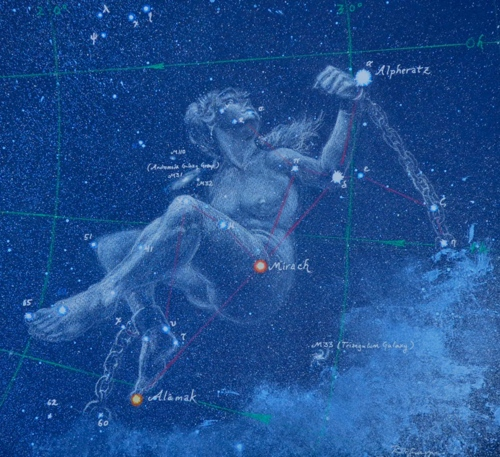 The Constellation Andromeda