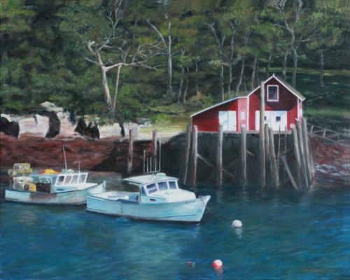 Limited Edition - Lobster Boats at Rest