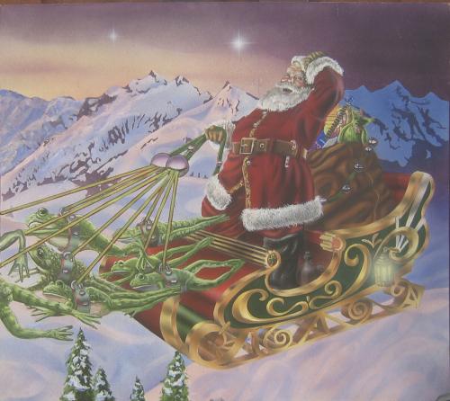 Santa Goes Green by Peter Bartczak