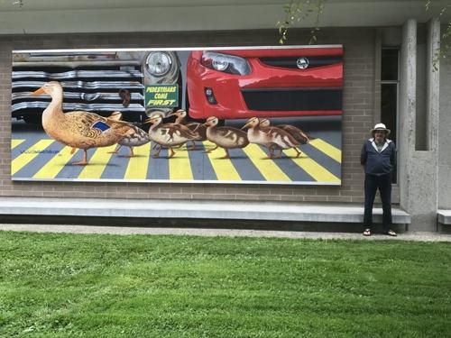 Pedestrians Come First by Peter Bartczak