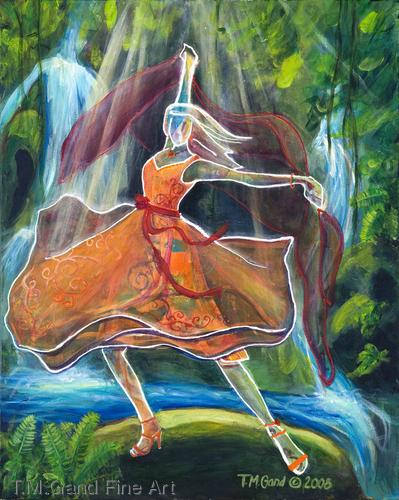 Dance! No. 1 by T.M.Gand Fine Art
