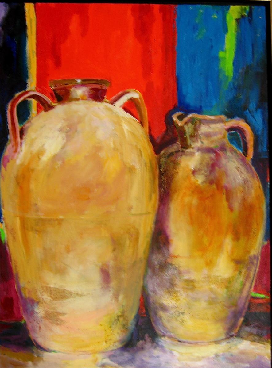 Tuscan jars (large view)