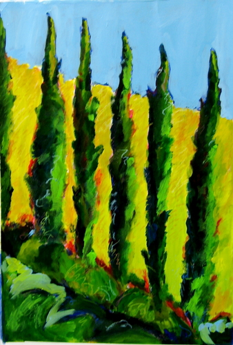 Umbrian cypress (large view)