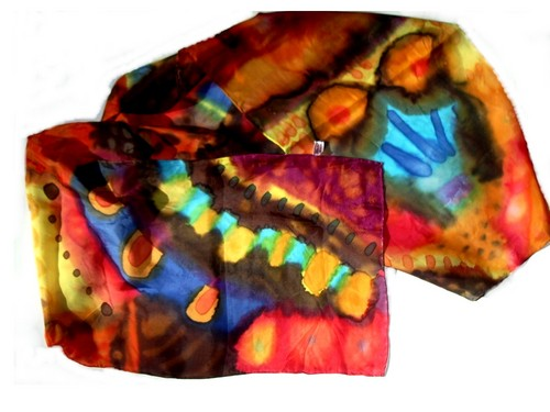 silk scarf 3 (large view)