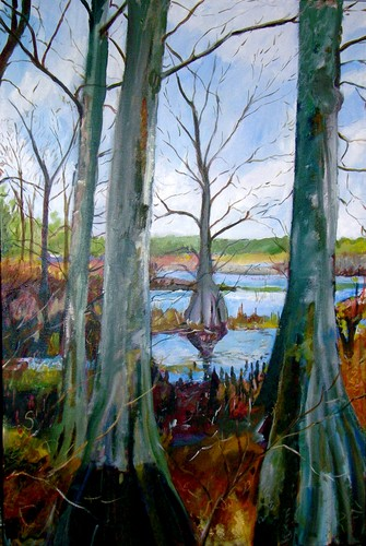 Cypress Trees (large view)
