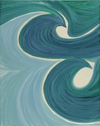 Green Green Swirl