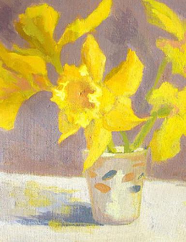 Mom's Bouquet - SOLD by Phyllis Dobbyn Adams