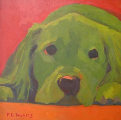 Big Redd - SOLD by Phyllis Dobbyn Adams