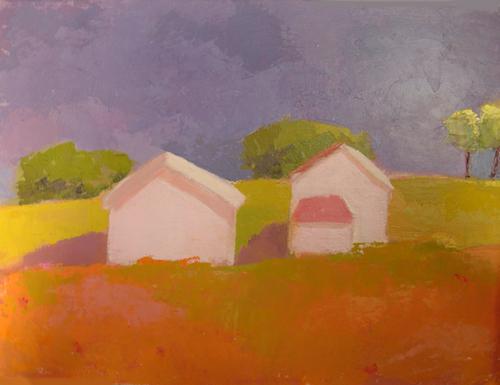 After The Rain - SOLD by Phyllis Dobbyn Adams