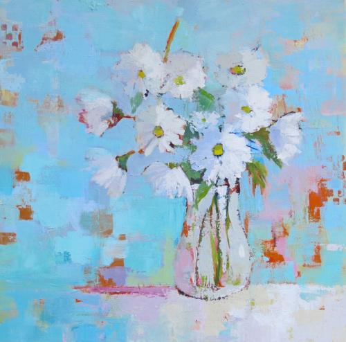 Bunch Of Daisies by Phyllis Dobbyn Adams