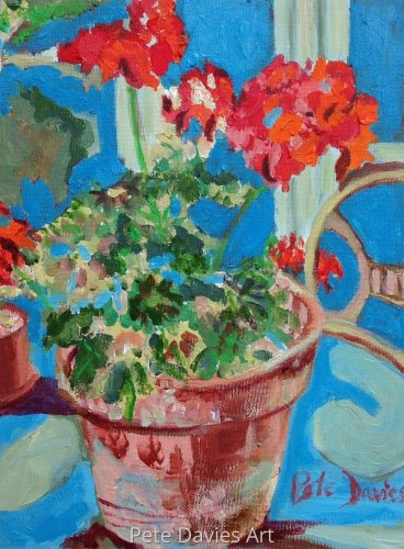 Old Fashioned Geraniums