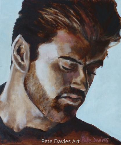 George Michael by Pete Davies Art