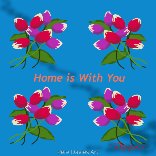 Home is With You - Blue
