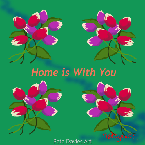 Home is With You - Sea Green