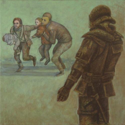 Escape Into Hungary by P a u l    D i   Z e f a l o