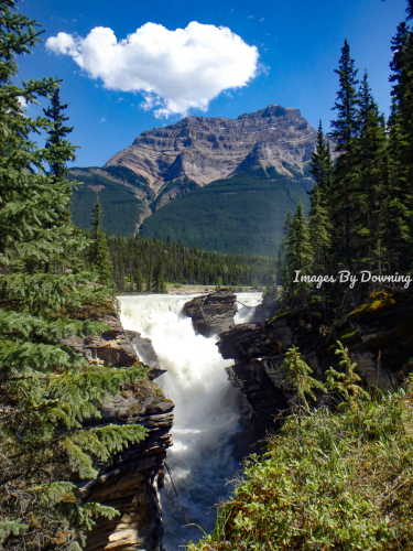 Athabasca Falls in Alberta, Canada  by Images By Downing