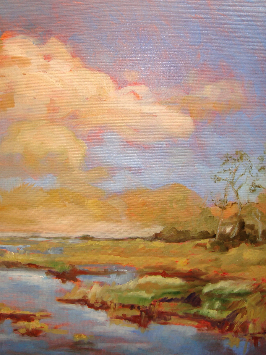 Salt Marsh Triptych (large view)