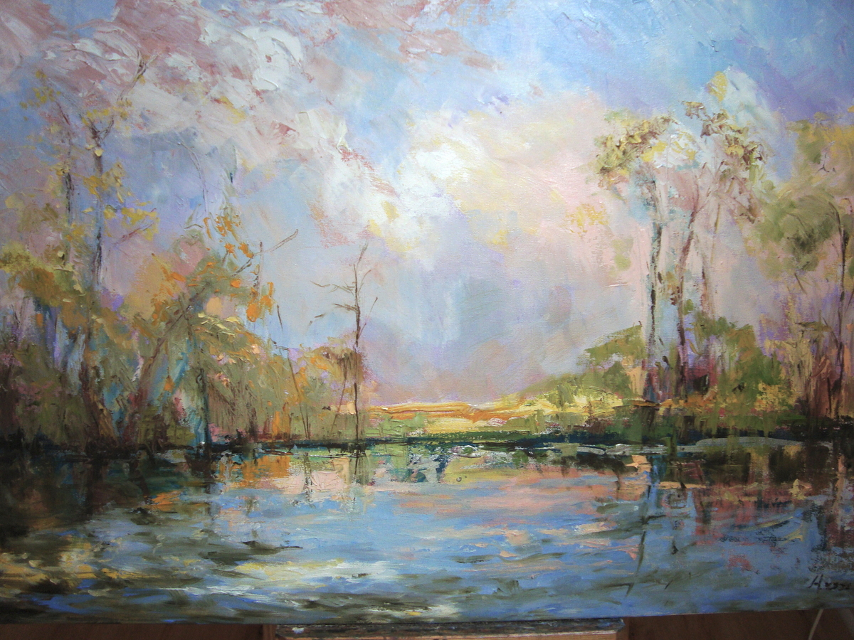 Spring Dream, Bayou Bonfouca (large view)