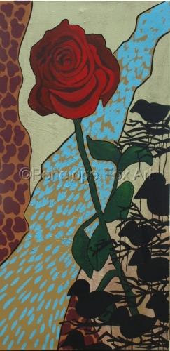 Rose by Penelope Fox Art