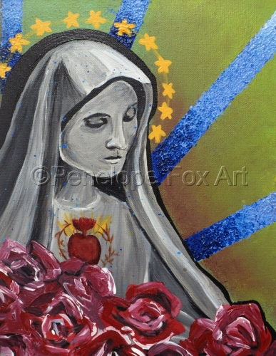 Virgin by Penelope Fox Art