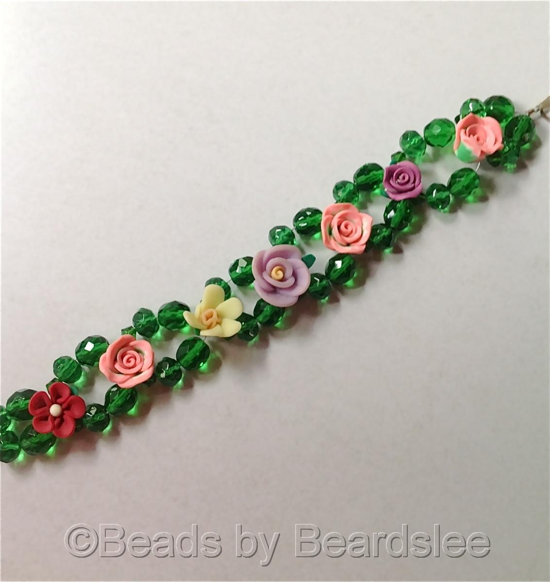 Woven Flower Bracelet (large view)