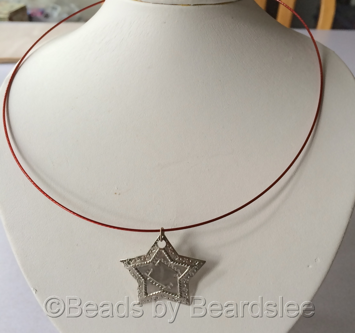 Metal Star Necklace (large view)