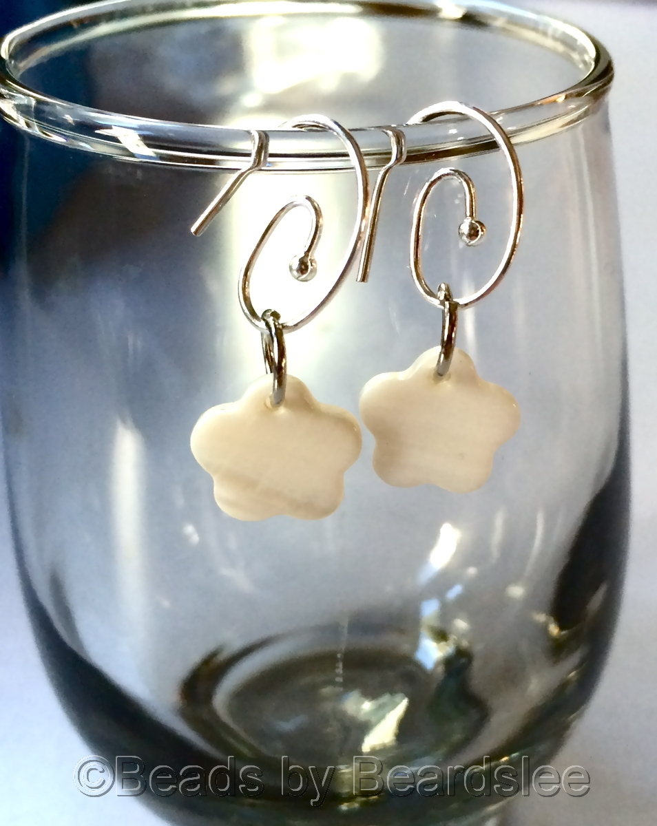 Mother of Pearl Earrings (large view)