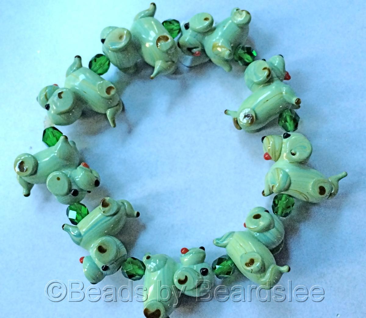 Green Dog Bracelet (large view)