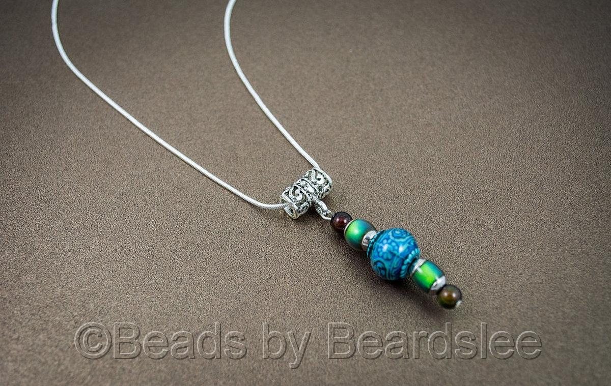 Blue Mystique Mirage Necklace (large view)